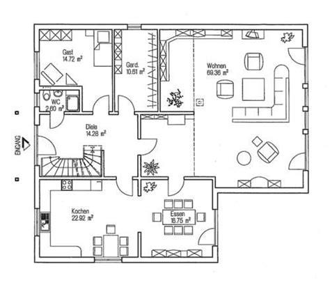 1 Schlafzimmer Haus Plan by Grundriss Erdgeschoss Fingerhut Haus L 177 10