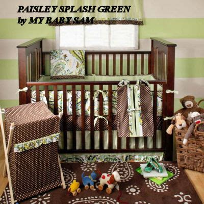 Green And Brown Crib Bedding Green And Brown Baby Bedding And Nursery Decor