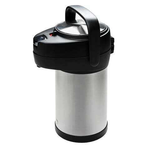 Teko Termos Air Stainless Steel Vacuum Coffee Pot 1 5lt New Promo thermos nissan stainless steel pot 2 5 liter 3316f
