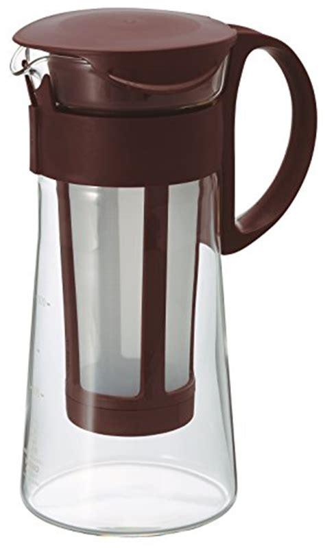 Hario Water Brew Coffee Pot Mcpn 14r awardpedia hario water brew coffee pot 600ml brown