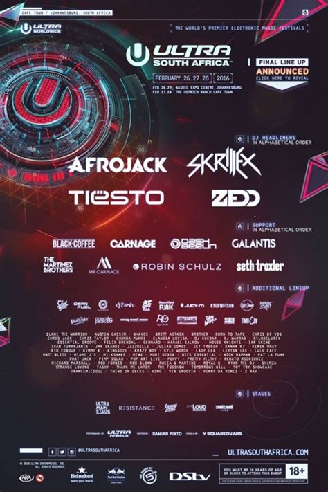 ultra south africa lineup 2019 mr cape town ultra south africa lineup mr cape town