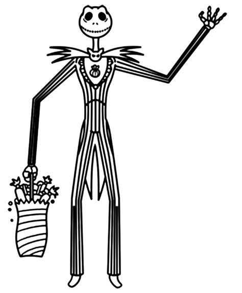 skeleton king coloring page free printable nightmare before christmas coloring pages