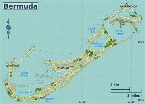 bermuda map maps of bermuda map library maps of the world