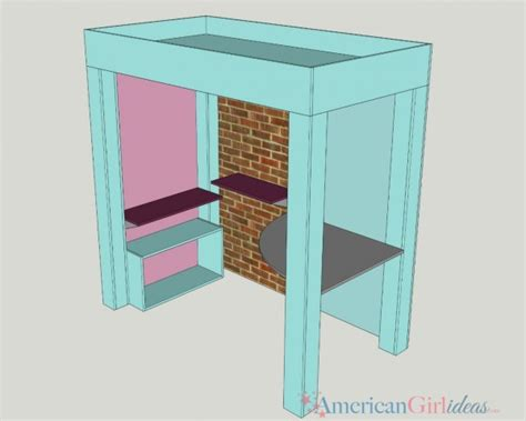 american girl loft bed diy american girl gabriela loft bed american girl ideas