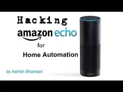 echo home automation hack home for