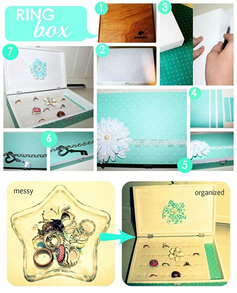 pretty diy projects diy projects how to make ring organizers pretty designs