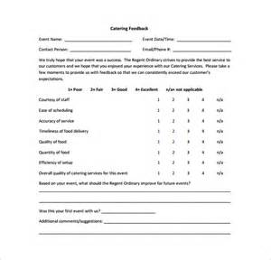 sample feedback survey template 8 free documents in