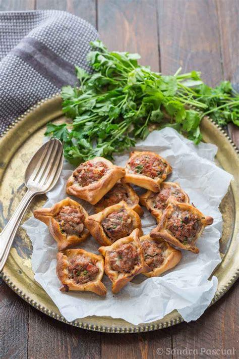 addict cuisine fatayer lebanese pies cuisine addict cuisine