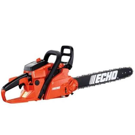 echo 18 in 40 2 cc gas chain saw with fast tension system