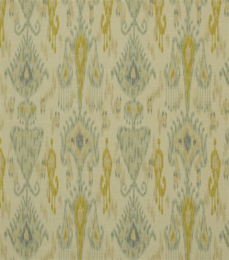 Robert Allen Home Decor Fabric by Home Decor Print Fabric Robert Allen Khanjali Glacier Jo Ann