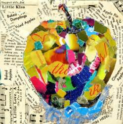 How To Make A Paper Collage - mixed media artists international mixed media torn paper