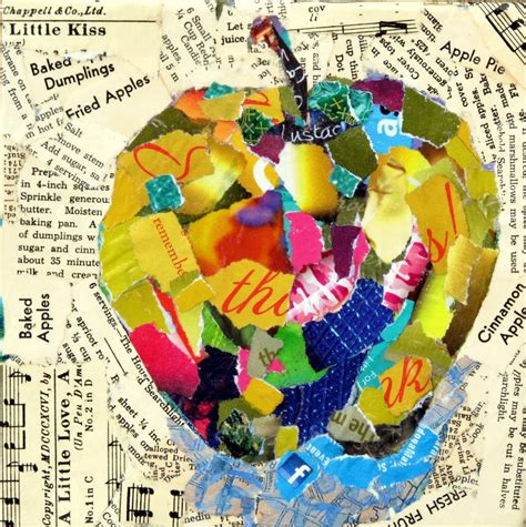 Paper Collage - mixed media artists international mixed media torn paper