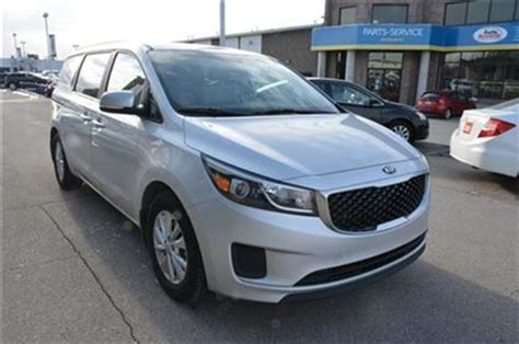 kia sedona rims for sale 2016 kia sedona lx 8 passenger with aluminum rims milton