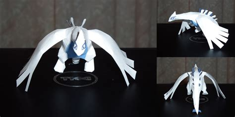 Lugia Papercraft - mini lugia papercraft by dustofstarz on deviantart