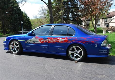 nissan maxima race car nissan maxima the fast and the furious the fast and