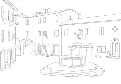 easy to draw architecture easy drawing 21 free pdf jpg format free