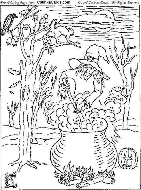 advanced halloween coloring pages halloween coloring