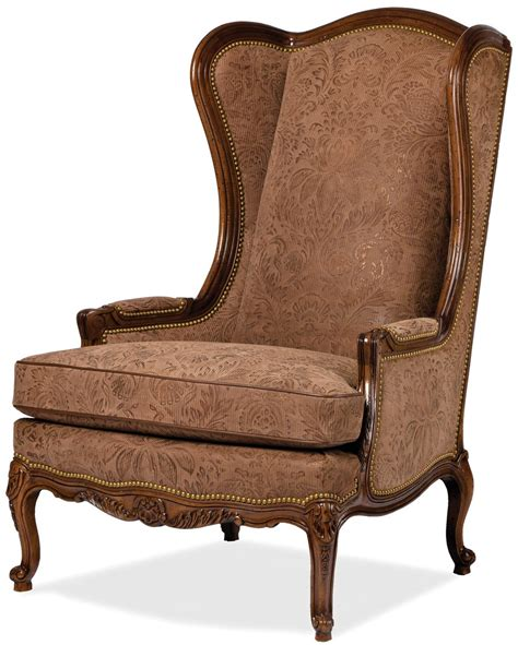 luxury accent chairs classic wing backed chair bernadette livingston