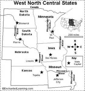 us western region map quiz west central states map quiz printout