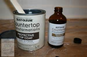 countertop clear coat rustoleum countertop transformations diy show
