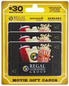 Regal Movies Gift Card - 1 kids movies all summer long