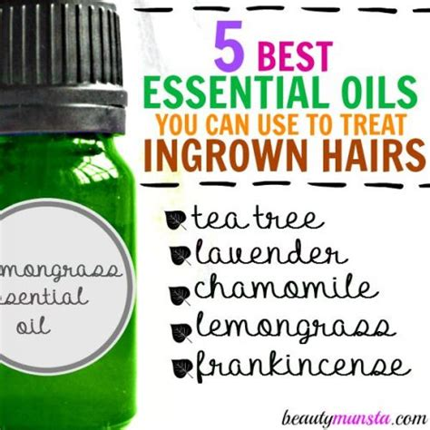 is tea tree oil good for ingrown hair don t pluck top 5 essential oils for ingrown hairs
