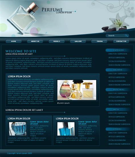 wordpress layout wordpress perfume 2 columns right sidebar wordpress theme