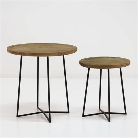 teak outdoor side table iron reclaimed teak side tables patio furniture teak