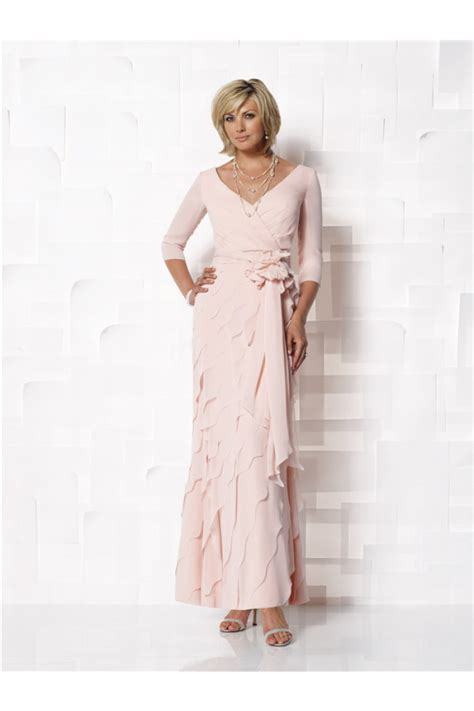 light pink mother of the bride dresses sheath v neck light pink chiffon ruffle mother of the