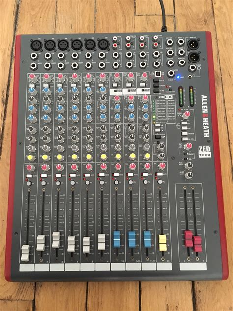 Mixer Allen Heath Zed 12fx allen heath zed 12fx image 1796746 audiofanzine
