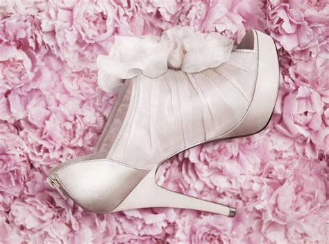 white by vera wang wedding shoes onewed