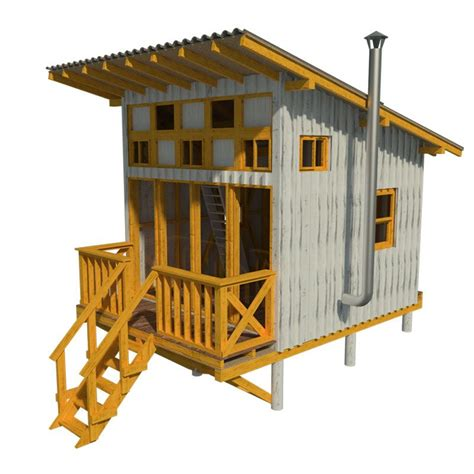 elevated cabin plans