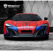 WrapStyle Shows Off Superhero Foil For Supercars  Carscoops