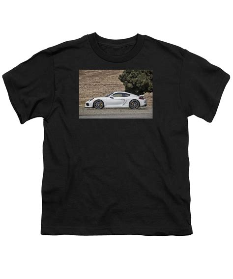 porsche cayman gt4 side profile youth t shirt for sale by