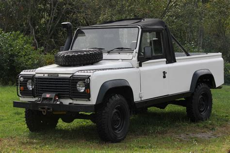 land rover 110 truck 1984 land rover defender 110 200tdi turbo diesel top