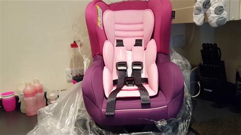 Mothercare Madrid Car Seat mothercare madrid combination car seat pink