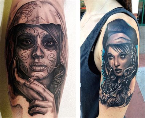 portrait tattoo design 20 amazing portrait designs feed inspiration