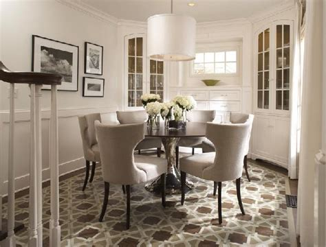 round table dining room dining rooms with round tables bungalow home staging