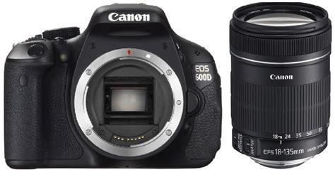 Kamera Canon Eos 600d Lensa 18 135mm canon 600d with 18 135mm lens clickbd