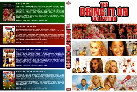 Dvd Bring It On the bring it on collection dvd custom covers bring it on collection dvd covers