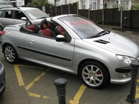 used peugeot for sale pics for gt peugeot 206 convertible