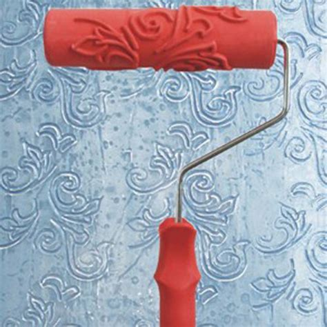 dot pattern roller 7 quot diy floral and dot pattern paint roller for wall