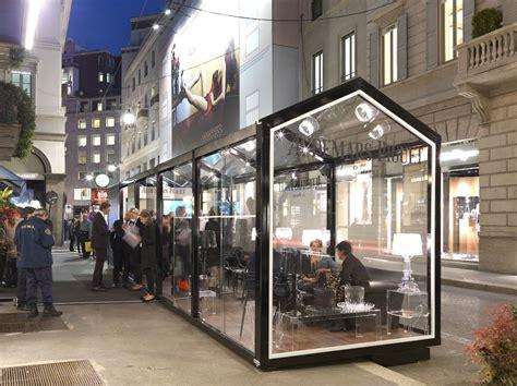gazebo store glass house by cagis