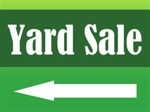 yard sale yard sign signazon