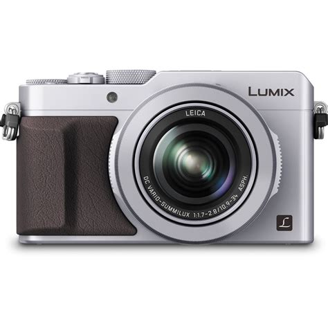 panasonic lumix panasonic lumix dmc lx100 digital silver
