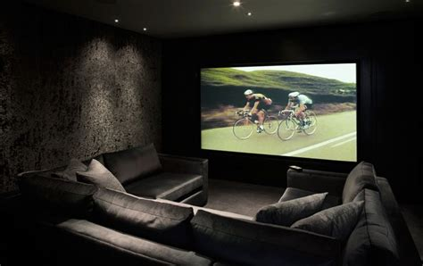 20 home cinema room ideas design black and home