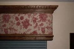 Fabric Covered Wood Valance 1000 ideas about wooden valance on valances cornices and blinds for patio doors