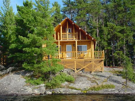 Cabins 4 You cabin 4 at island 10 northern ontario fishing lodge on lake temagami