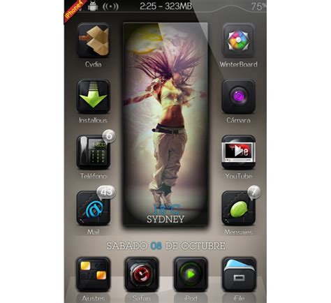 themes iphone 3gs mustified free iphone 4s themes