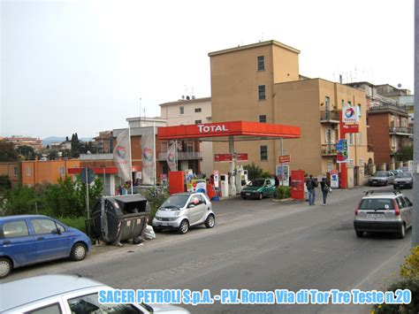 tre teste sacer petroli s p a divisione rete pv roma tor tre teste